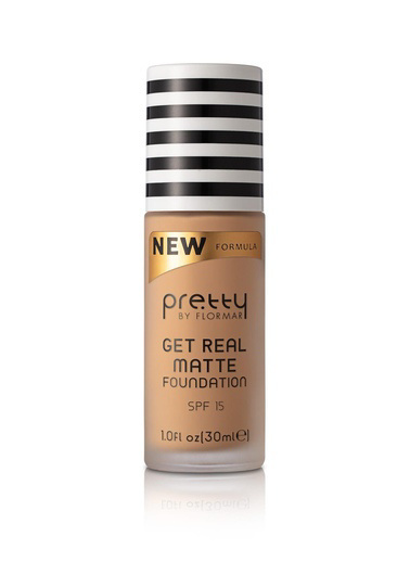 Flormar Flormar By Pretty Get Real Matte Foundatıon 08 Medıum Beıge Ten
